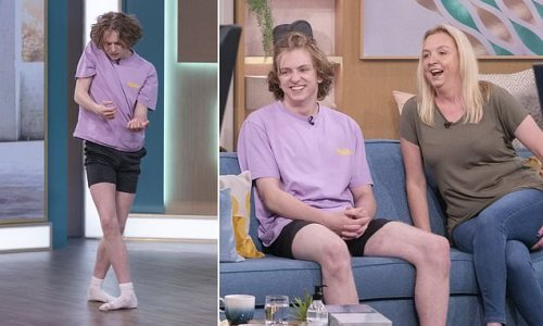 Teenager with cystic fibrosis says dance is a drug that saved his life
