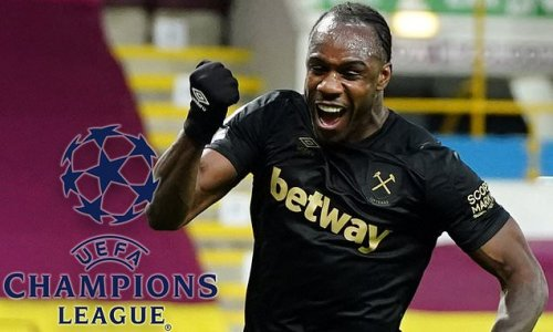 Two-goal Antonio relishing possibility of Champions League football