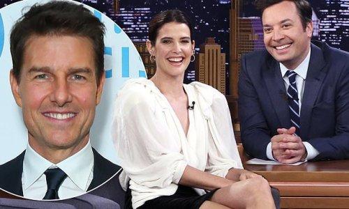 Cobie Smulders reveals Tom Cruise sends her a cake every Christmas