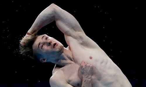 Jack Laugher and James Heatly both advance to men's springboard final