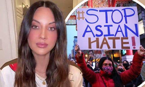 Olivia Munn rallies to #StopAsianHate following Georgia shootings