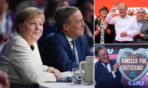 Merkel makes last ditch bid to boost would-be successor's campaign