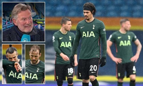 Tottenham 'are NOT a top six team at the moment' insists Glenn Hoddle