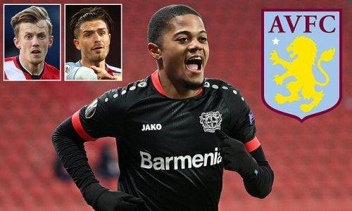 Aston Villa agree to sign Bayer Leverkusen winger Leon Bailey for £30m