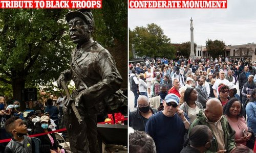 Tennessee town erects new statue to black Union soldiers