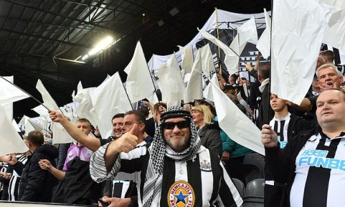 Criticism of Newcastle fans over Arab-clothing shows double standards