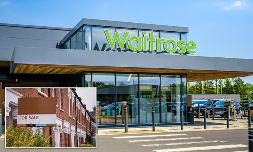 House price rises are slower among homes found near a Waitrose