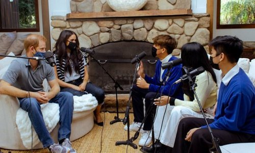 Harry and Meghan chat to teens on World Mental Health Day podcast