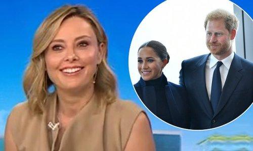 Harry and Meghan, NYC: Today host Allison Langdon's 'woke' joke bombs
