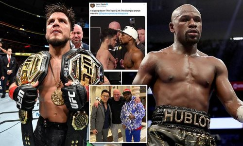 Cejudo hints at mega-fight with Mayweather: 'It's going down'