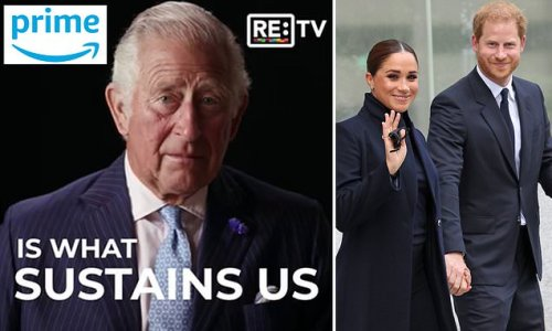Prince Charles launches new climate change TV channel on Amazon Prime