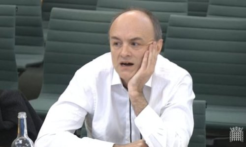 Civil service is a 'disaster zone' says Dominic Cummings