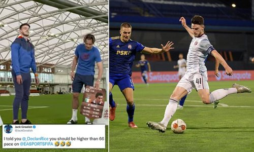 Grealish hails Rice after West Ham star scores solo goal in Europe