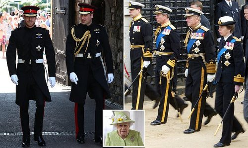 None of the royals to wear military uniform at Prince Philips funeral