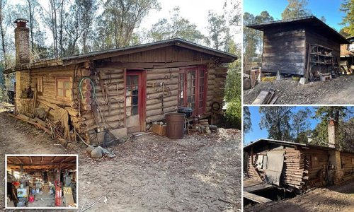 Crumbling 1890 log cabin is on for sale for a whopping $575K