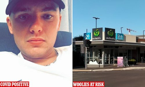 'Selfish' Covid-infected man who went to Woolworths without a mask