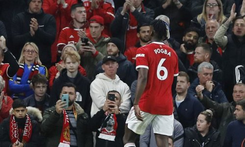 Pogba SENT OFF less than 20 minutes after coming on against Liverpool