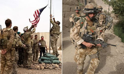 Brit troops twice as likely to die in Afghanistan than US, study finds