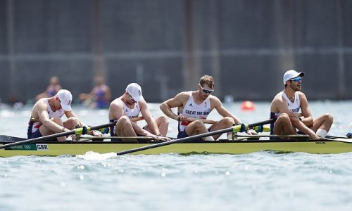 Rossiter: GB's coxless four failure will leave predecessors 'SMUG'