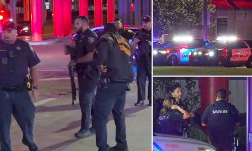 Three Texas constables shot in 'ambush' Saturday, at least one dead