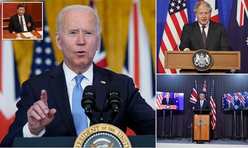 Biden White House says France got head's up on US-UK-Australia deal