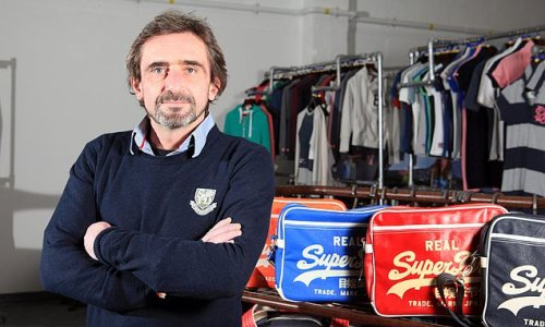 Superdry boss takes swipe at recent sustainability plans from rivals