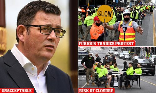 Victoria's construction industry could be shut down after protests
