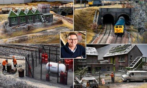Britain's biggest model railway costing £150k is set to go on display