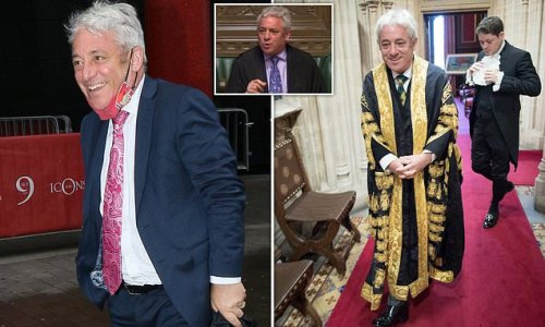 Ministers slate 'diminished' John Bercow as ex-Speaker attacks PM