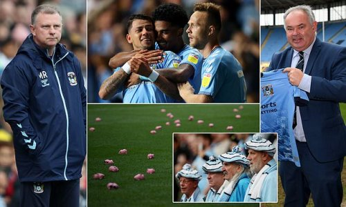 Coventry City's resurrection: From mock funeral to record ticket sales