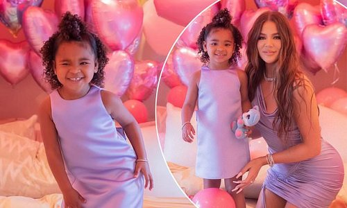 Khloe Kardashian's daughter turns three with lavish bash