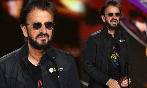 Ringo Starr, 80, looks incredibly youthful as he presents at Grammys