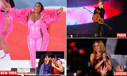 Jennifer Lopez, Billie Eilish and Doja Cat lead at Global Citizen Live