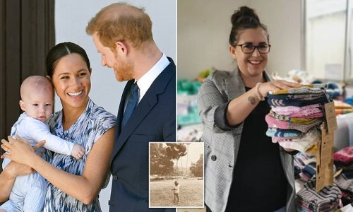 Prince Harry and Meghan Markle buy 200 hats in Archie's name