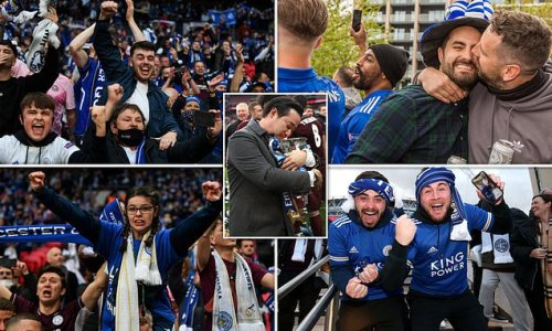 21,000 fans witness Leicester's historic FA Cup win at Wembley