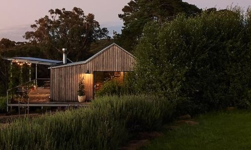This shed is listed on Airbnb, but you'll never guess what's inside