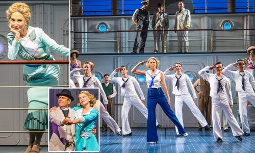 Felicity Kendal crews up with Robert Lindsay in Anything Goes