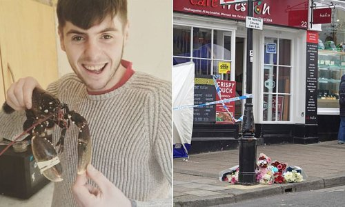 Pictured: 'Kind-hearted' father, 23, who was stabbed to death