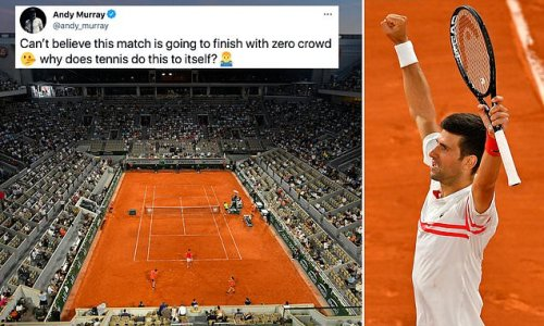 Roland Garros crowd allowed to STAY for end of French Open semi-final