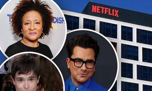 Elliot Page, Dan Levy, Wanda Sykes voice support for Netflix walkout
