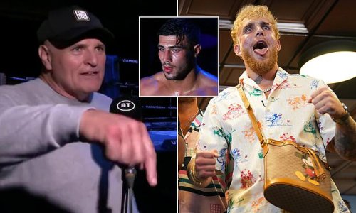 Tommy Fury's dad calls out Jake Paul to fight his son