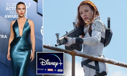 Scarlett Johansson sues Disney over streaming Black Widow