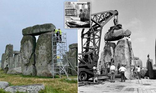 Stonehenge restoration work begins