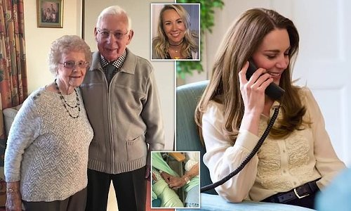 Duchess of Cambridge praises image of elderly couple battling Covid