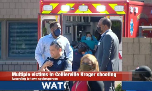 Multiple people injured in mass shooting at Kroger store in Memphis
