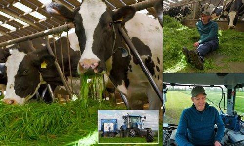 Viewers' horror as BBC Countryfile host Matt Baker visits dairy farm