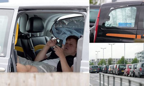 Taxi driver DEAD in his car at Heathrow as many sleep inside vehicles