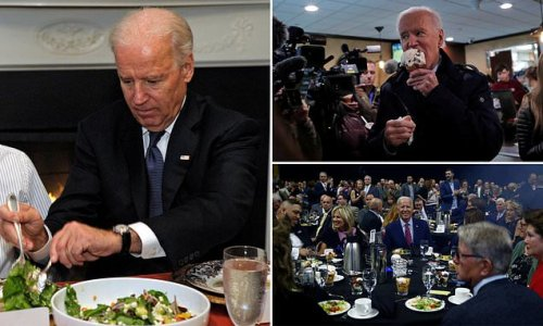 Biden told staff not to serve leafy greens due to picture risk