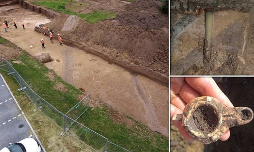 Rare Roman 'highway' and canal unearthed in the Netherlands