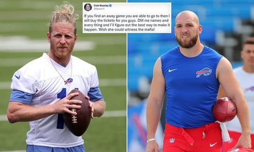 Bills' Beasley, Ferguson offer to BUY tickets for unvaccinated fans